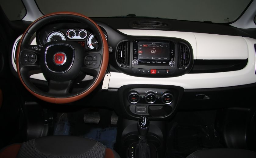 2015 Fiat 500L Trekking AUTO A/C TOIT PANO MAGS BLUETOOTH #12