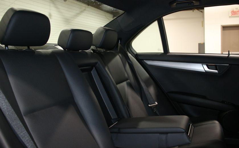 2014 Mercedes Benz C300 AWD AUTO A/C CUIR TOIT MAGS #21