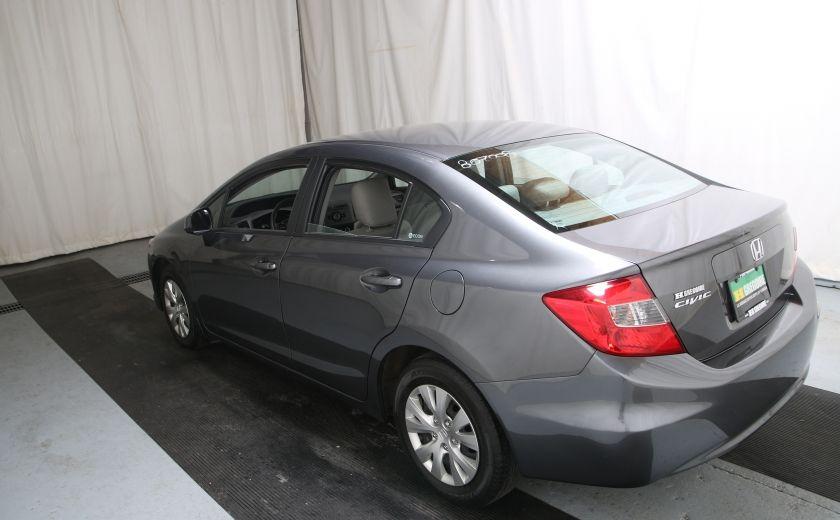 2012 Honda Civic LX A/C GR ELECT BLUETHOOT #3