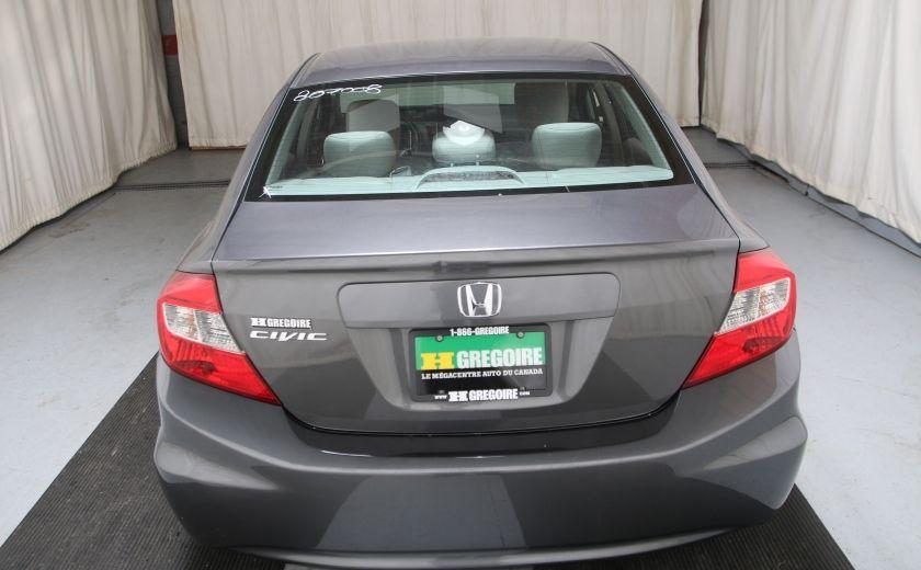 2012 Honda Civic LX A/C GR ELECT BLUETHOOT #4
