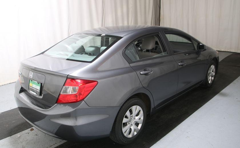 2012 Honda Civic LX A/C GR ELECT BLUETHOOT #5