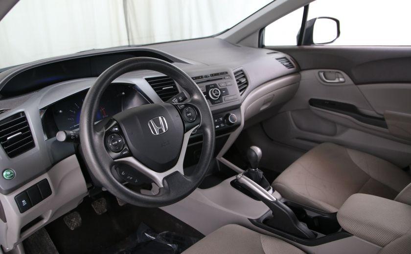 2012 Honda Civic LX A/C GR ELECT BLUETHOOT #7