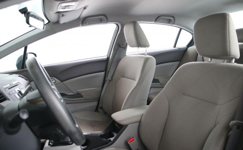 2012 Honda Civic LX A/C GR ELECT BLUETHOOT #8