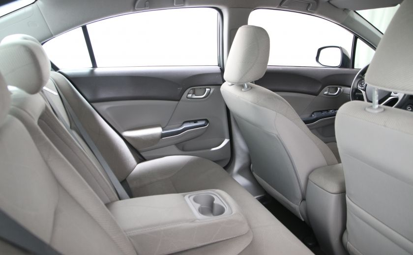 2012 Honda Civic LX A/C GR ELECT BLUETHOOT #14