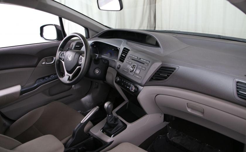 2012 Honda Civic LX A/C GR ELECT BLUETHOOT #16