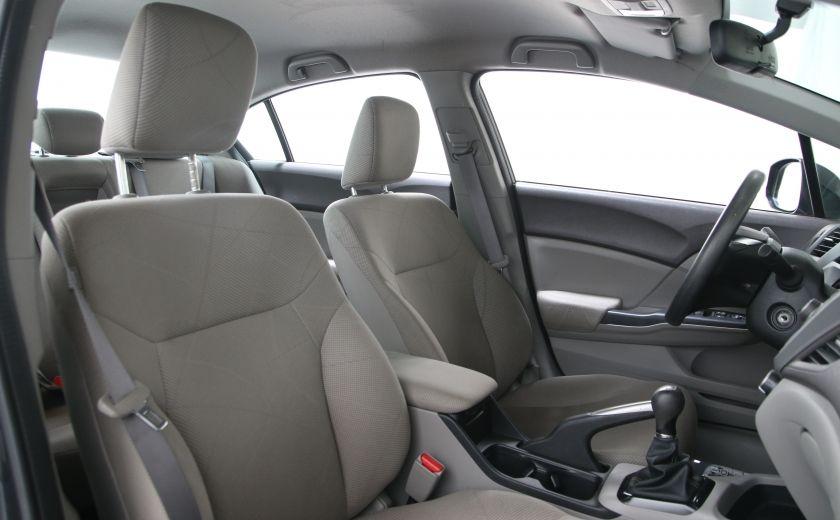 2012 Honda Civic LX A/C GR ELECT BLUETHOOT #18