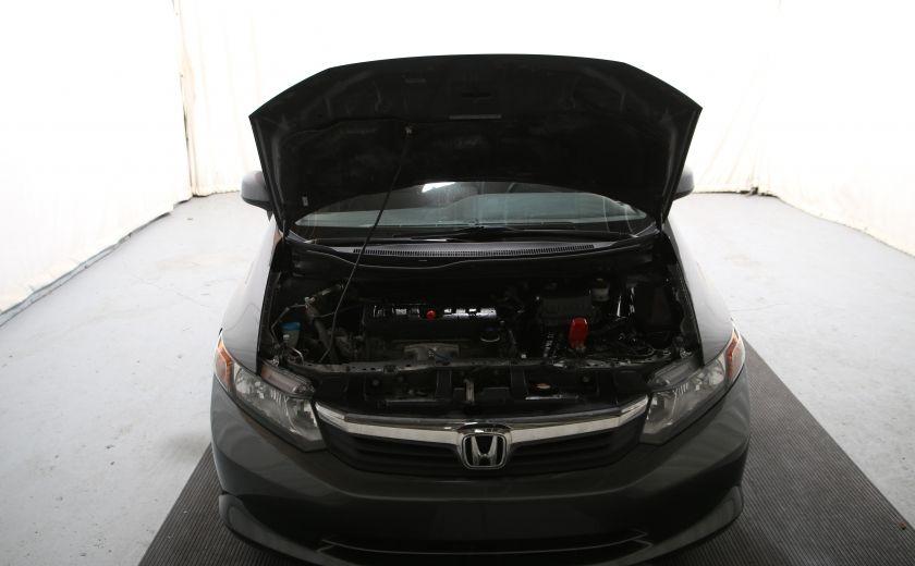 2012 Honda Civic LX A/C GR ELECT BLUETHOOT #19