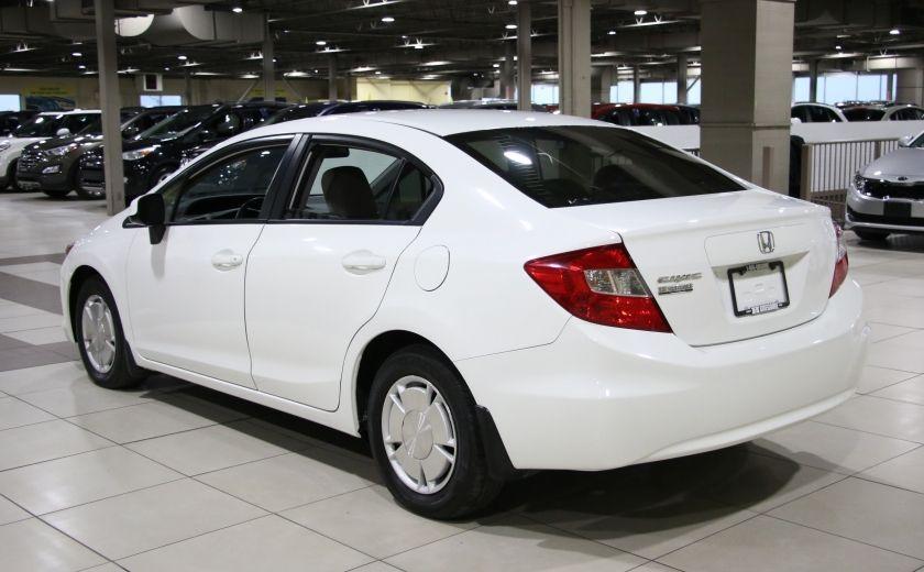 2012 Honda Civic LX A/C GR ELECT MAGS BLUETHOOT #4