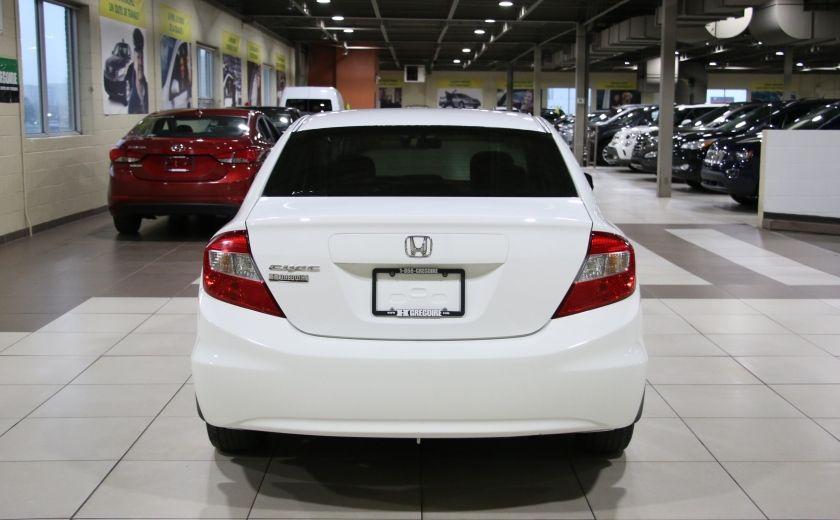 2012 Honda Civic LX A/C GR ELECT MAGS BLUETHOOT #5