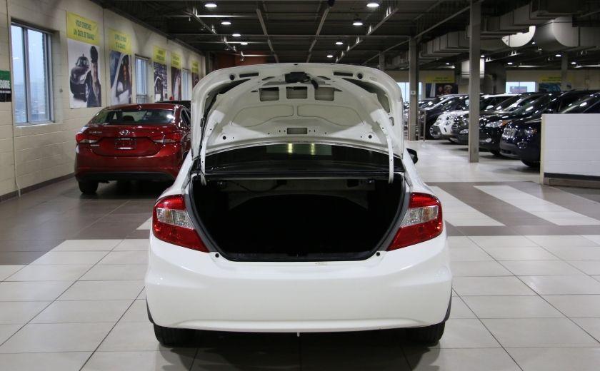 2012 Honda Civic LX A/C GR ELECT MAGS BLUETHOOT #25