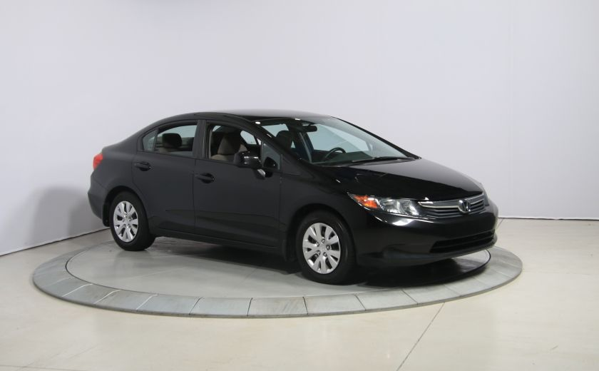 2012 Honda Civic LX A/C GR ELECT BLUETHOOT #0