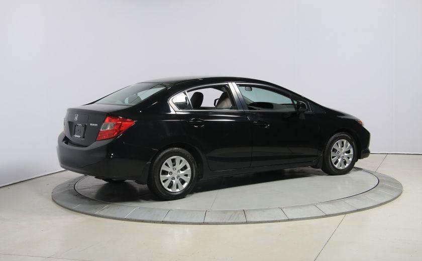 2012 Honda Civic LX A/C GR ELECT BLUETHOOT #6