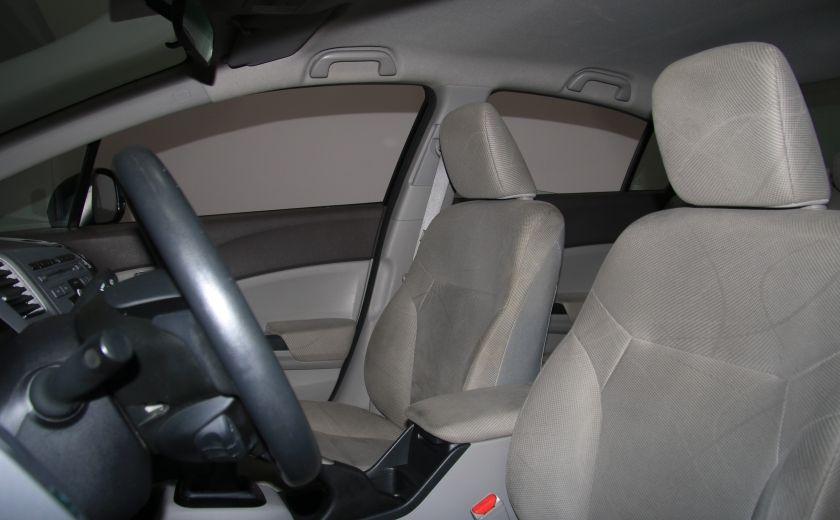 2012 Honda Civic LX A/C GR ELECT BLUETHOOT #9