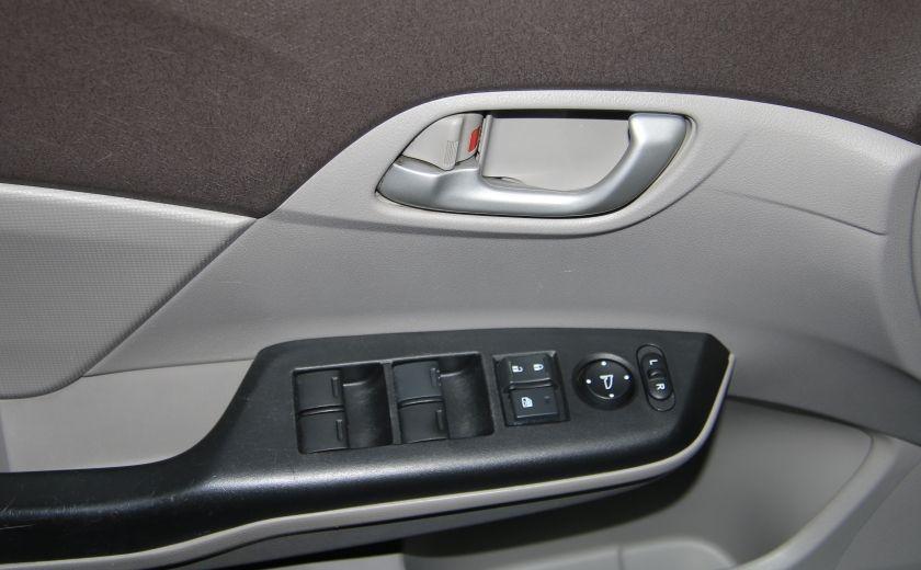 2012 Honda Civic LX A/C GR ELECT BLUETHOOT #10