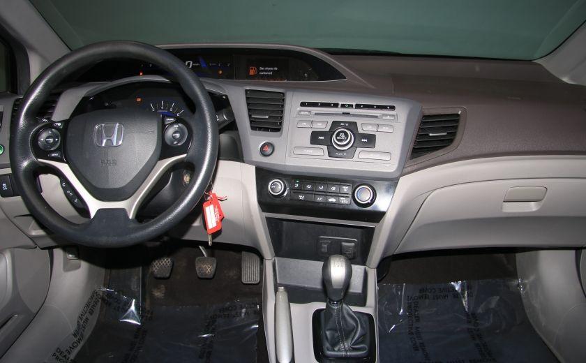 2012 Honda Civic LX A/C GR ELECT BLUETHOOT #11