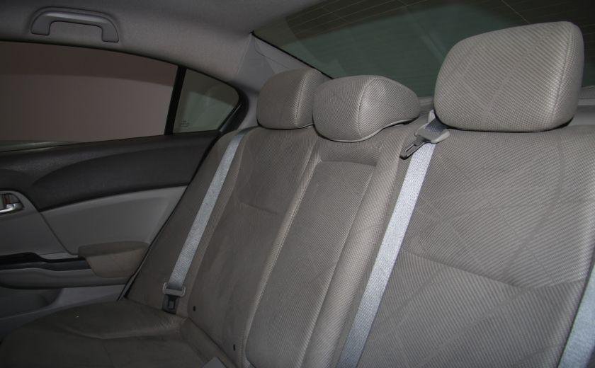 2012 Honda Civic LX A/C GR ELECT BLUETHOOT #17