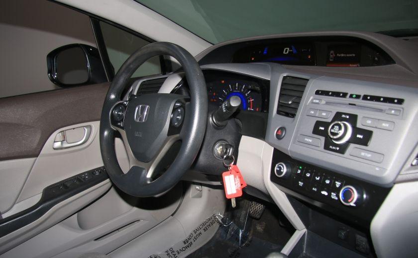 2012 Honda Civic LX A/C GR ELECT BLUETHOOT #21