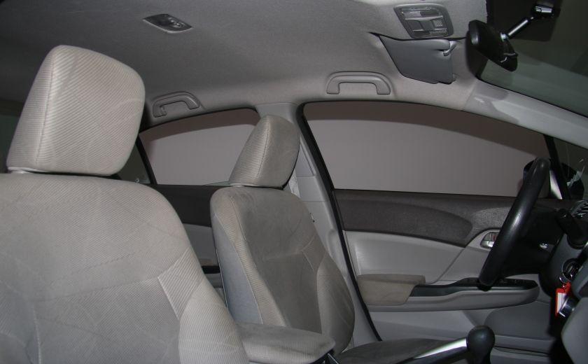 2012 Honda Civic LX A/C GR ELECT BLUETHOOT #22