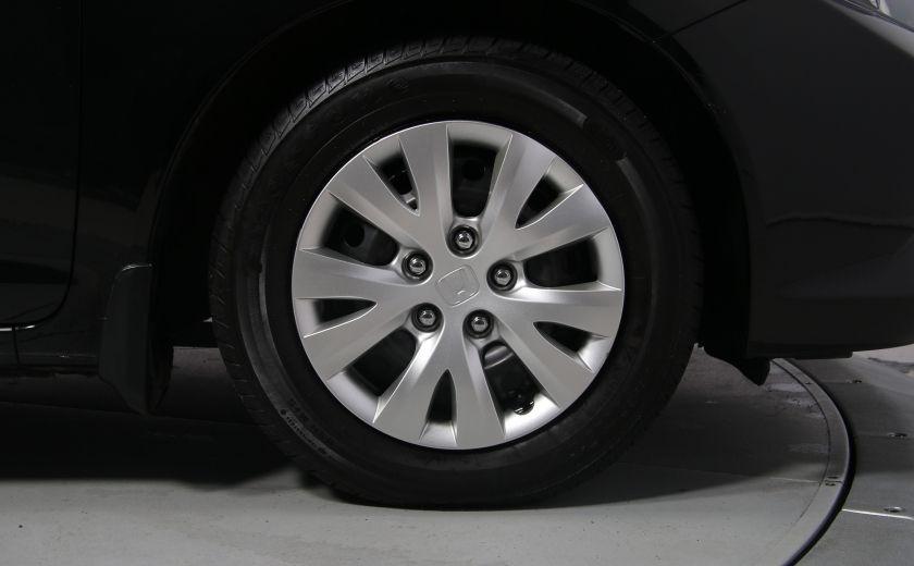 2012 Honda Civic LX A/C GR ELECT BLUETHOOT #28