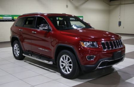 2014 Jeep Grand Cherokee Limited 4WD AUTO A/C CUIR TOIT MAGS à Québec