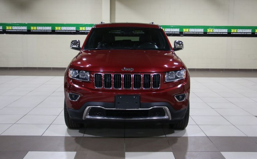 2014 Jeep Grand Cherokee Limited 4WD AUTO A/C CUIR TOIT MAGS #1