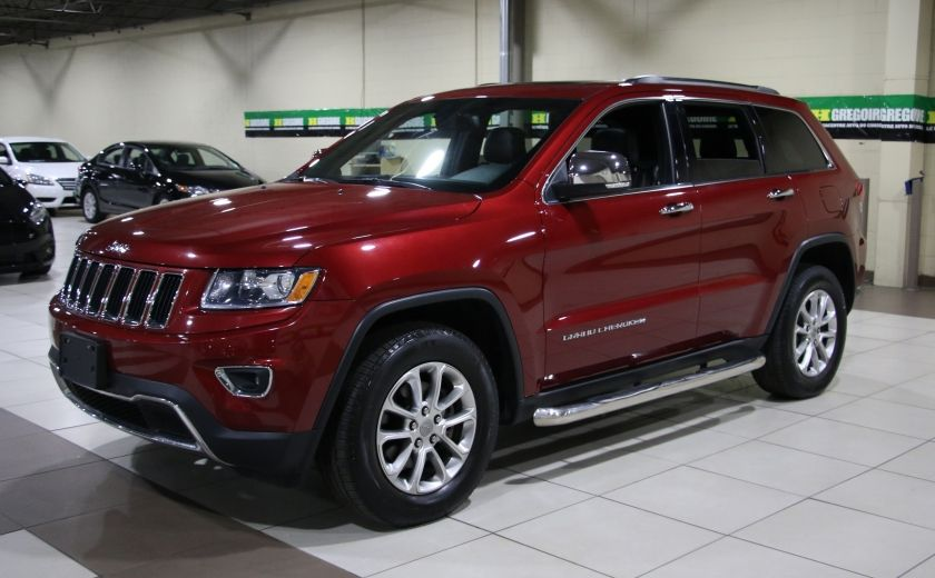 2014 Jeep Grand Cherokee Limited 4WD AUTO A/C CUIR TOIT MAGS #2