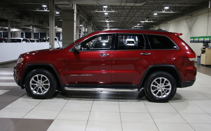 2014 Jeep Grand Cherokee Limited 4WD AUTO A/C CUIR TOIT MAGS #3