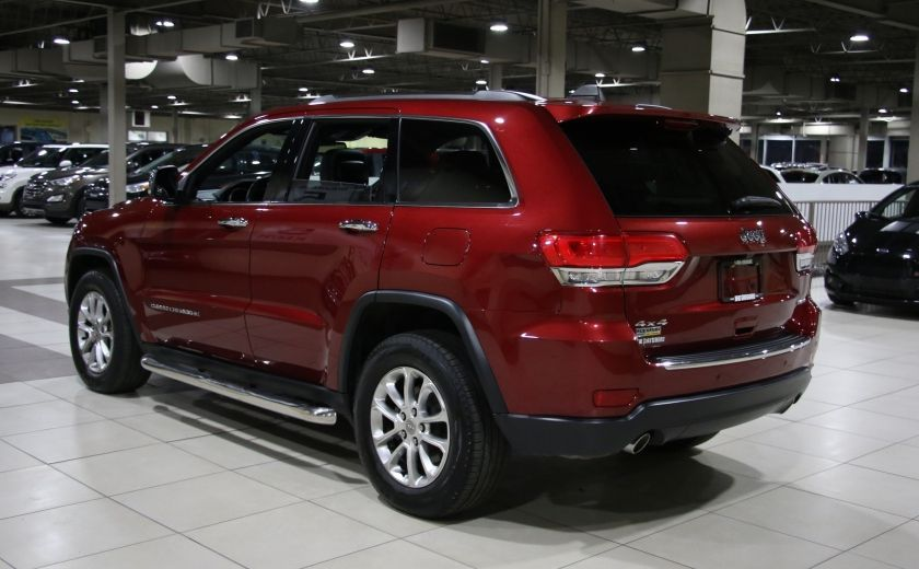 2014 Jeep Grand Cherokee Limited 4WD AUTO A/C CUIR TOIT MAGS #4