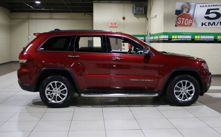 2014 Jeep Grand Cherokee Limited 4WD AUTO A/C CUIR TOIT MAGS #7
