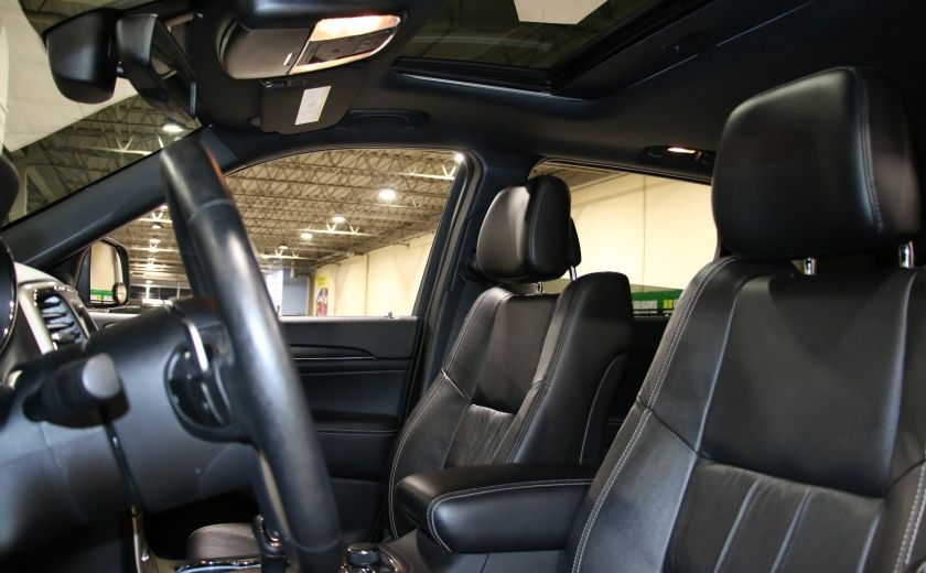2014 Jeep Grand Cherokee Limited 4WD AUTO A/C CUIR TOIT MAGS #9