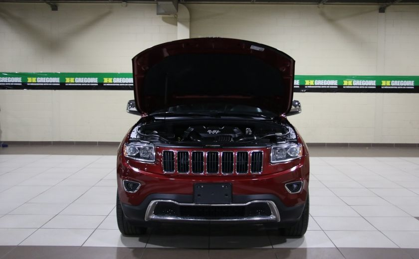 2014 Jeep Grand Cherokee Limited 4WD AUTO A/C CUIR TOIT MAGS #30