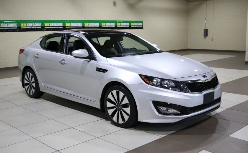 2011 Kia Optima Turbo SX AUTO A/C CUIR TOIT PANO MAGS BLUETOOTH #0