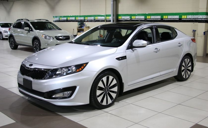 2011 Kia Optima Turbo SX AUTO A/C CUIR TOIT PANO MAGS BLUETOOTH #2