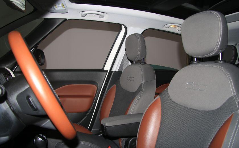 2014 Fiat 500L Trekking AUTO A/C TOIT MAGS BLUETOOTH #9
