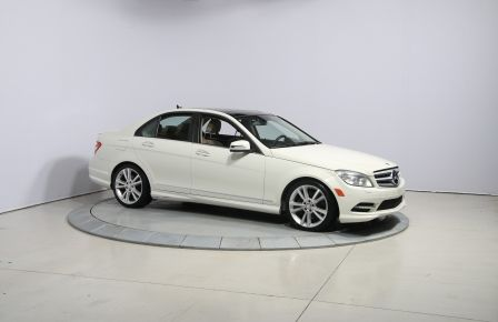2011 Mercedes Benz C350 4MATIC AUTO CUIR TOIT NAVIGATION MAGS in Gatineau