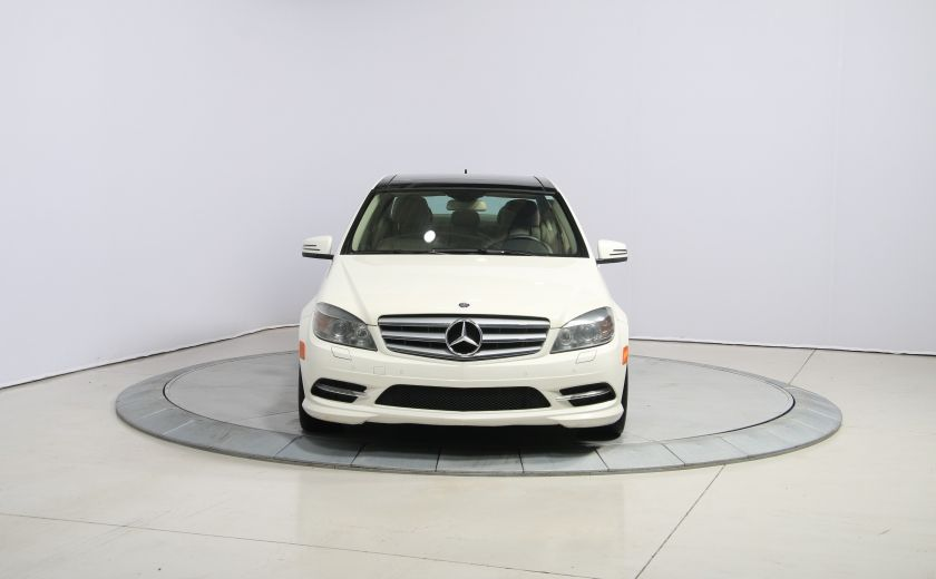 2011 Mercedes Benz C350 4MATIC AUTO CUIR TOIT NAVIGATION MAGS #1