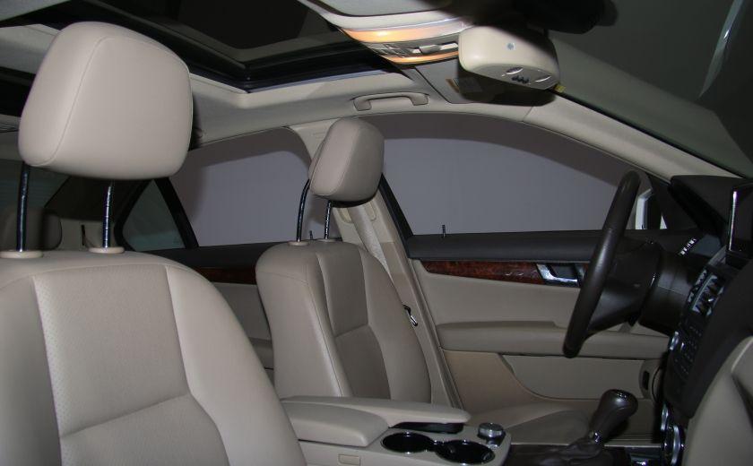 2011 Mercedes Benz C350 4MATIC AUTO CUIR TOIT NAVIGATION MAGS #26