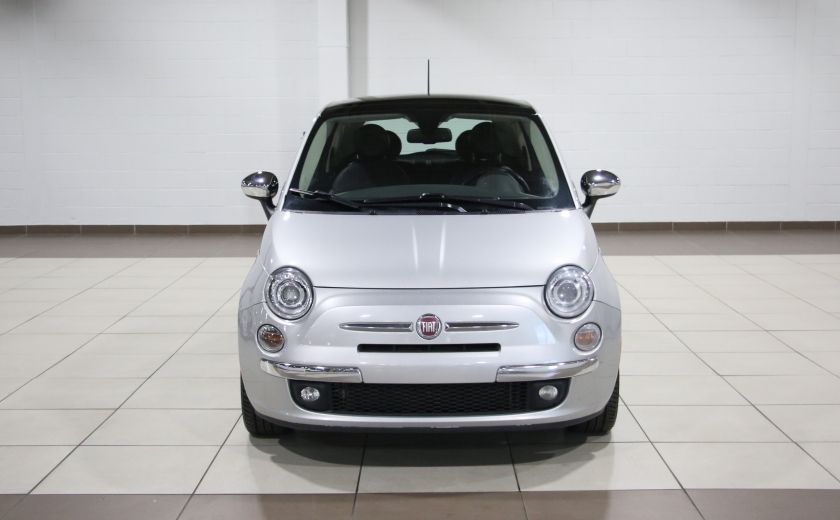 2012 Fiat 500 Lounge AUTO A/C CUIR TOIT MAGS #1