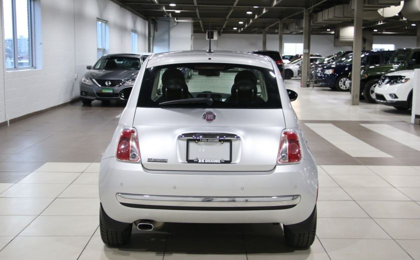 2012 Fiat 500 Lounge AUTO A/C CUIR TOIT MAGS #5