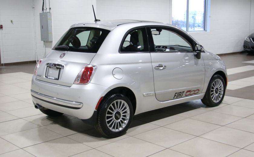 2012 Fiat 500 Lounge AUTO A/C CUIR TOIT MAGS #6