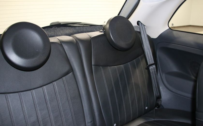 2012 Fiat 500 Lounge AUTO A/C CUIR TOIT MAGS #15