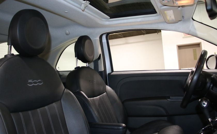 2012 Fiat 500 Lounge AUTO A/C CUIR TOIT MAGS #18