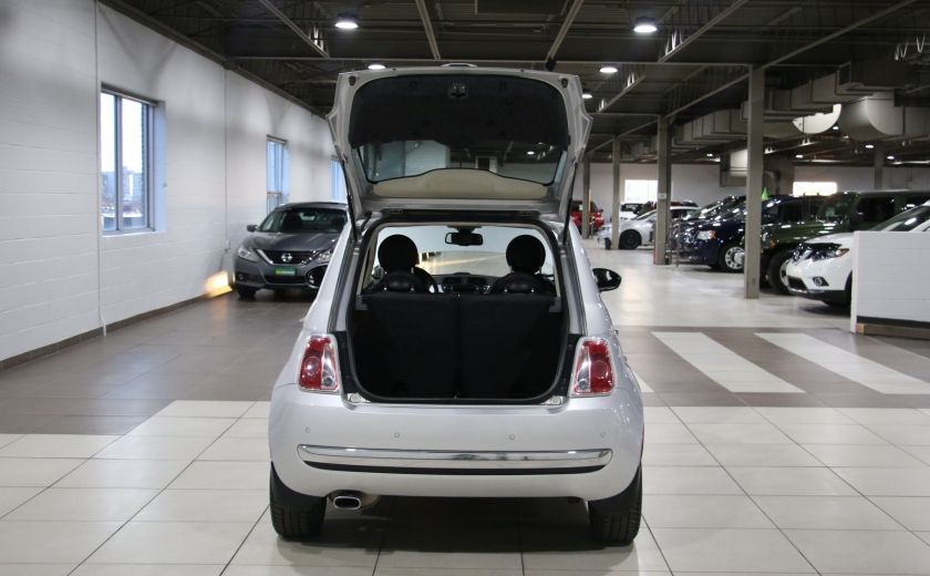 2012 Fiat 500 Lounge AUTO A/C CUIR TOIT MAGS #22