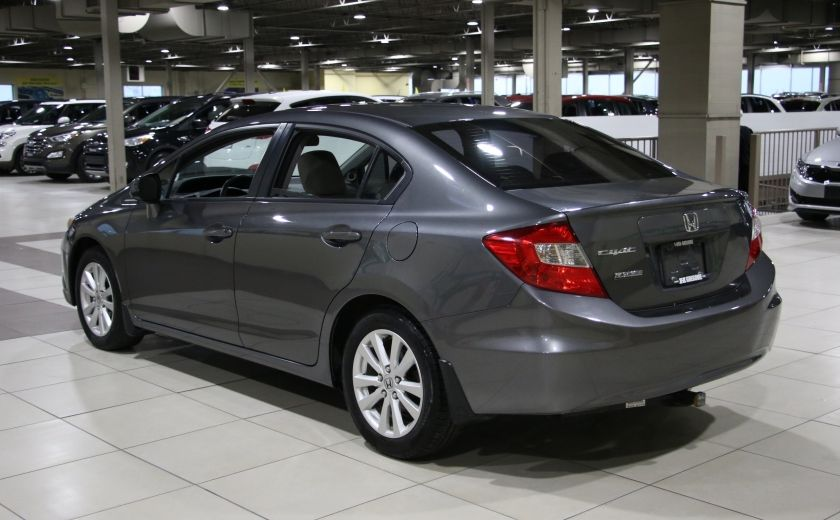 2012 Honda Civic EX A/C GR ELECT MAGS BLUETOOTH #4