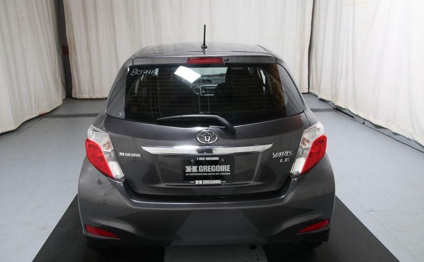 2014 Toyota Yaris HATCHBACK LE AUTO A/C GR ELECT BLUETHOOT #4