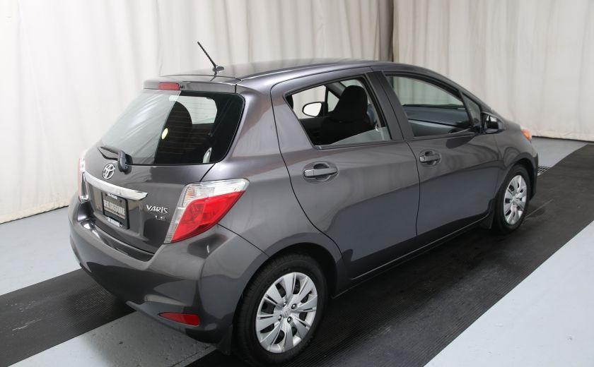2014 Toyota Yaris HATCHBACK LE AUTO A/C GR ELECT BLUETHOOT #5