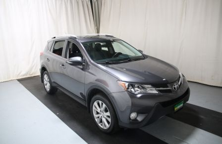 2013 Toyota Rav 4 LIMITED AWD CUIR TOIT CAMERA HAYON ELECT in Estrie