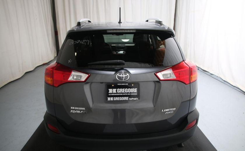 2013 Toyota Rav 4 LIMITED AWD CUIR TOIT CAMERA HAYON ELECT #4