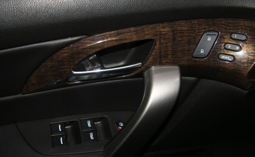 2013 Acura MDX Tech Pkg AWD CUIR TOIT NAV DVD MAGS  7PASSAGERS #8