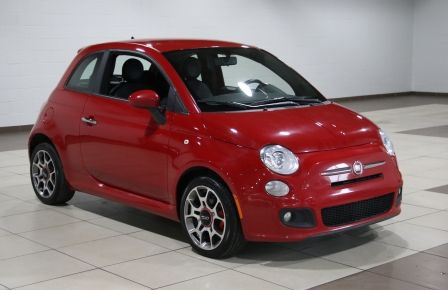 2013 Fiat 500 Sport AUTO A/C CUIR TOIT MAGS #0